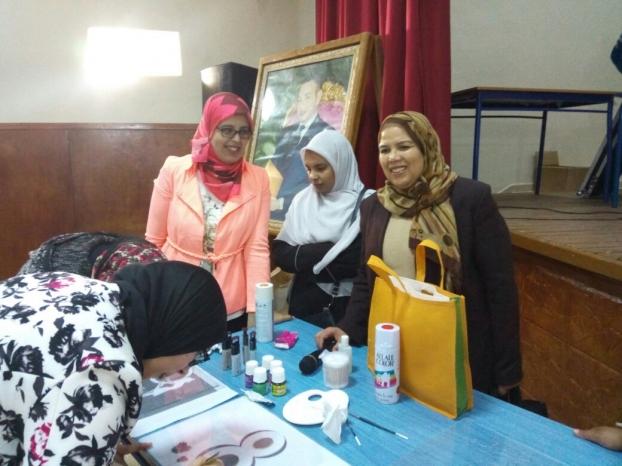 المكتب الإقليمي للنقابة الوطنية للتعليم ( ف د ش ) ينظم حفلاً تكريميا لفائدة مجموعة من نساء التعليم